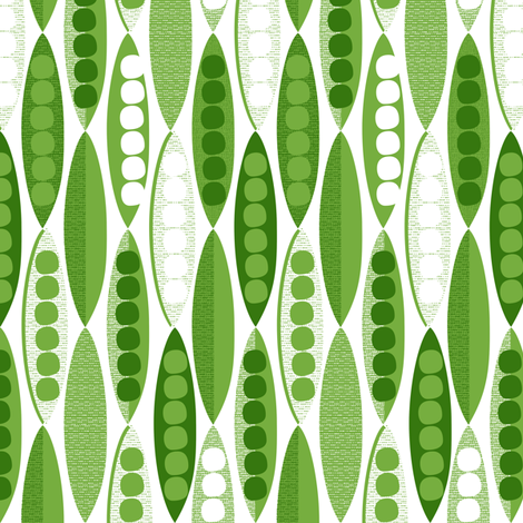 Petit Pois fabric by spellstone on Spoonflower - custom fabric