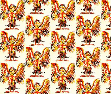 Harpy2 fabric by smwilde on Spoonflower - custom fabric