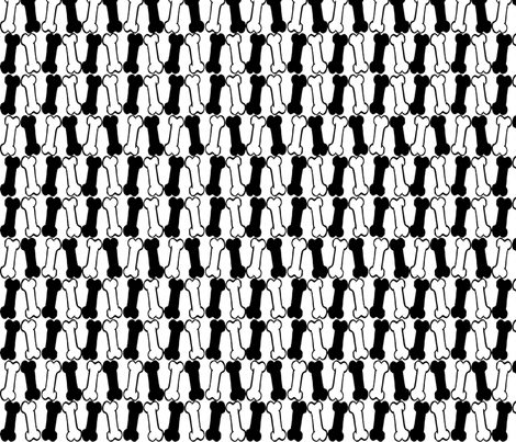 Bones fabric by slickandhisruin on Spoonflower - custom fabric