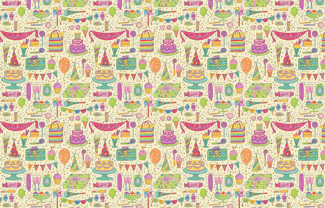 Sweet Celebration fabric by amandamcgee on Spoonflower - custom fabric