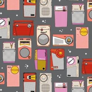 Radio Star* (Pepper Pot) || midcentury modern atomic vintage retro transistor radios music stars
