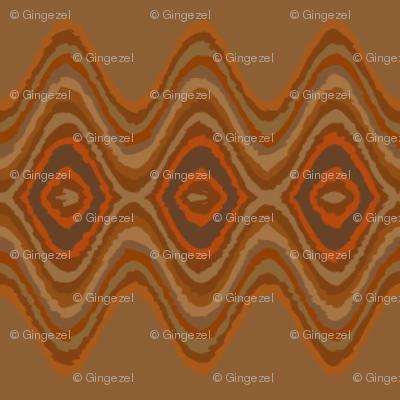 Cozy wavy Stripe © Gingezel™ 2013