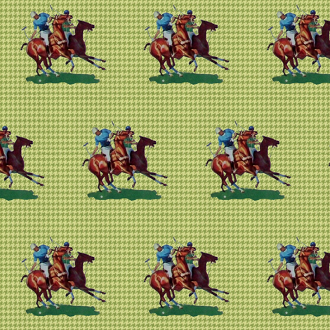 Polo on Houndstooth fabric by ragan on Spoonflower - custom fabric