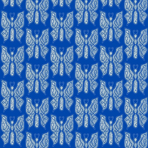 ButterflyDancer - med - cobalt blue reverse