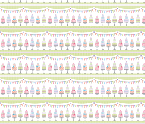 It's My Birthday and I'll Eat Cake if I Want To fabric by pixeldust on Spoonflower - custom fabric