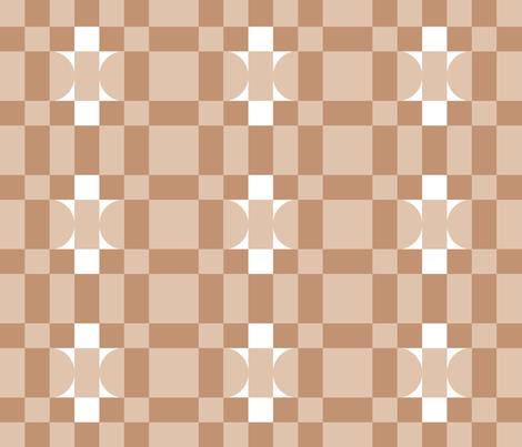 Marshmallow Fluff fabric by anniedeb on Spoonflower - custom fabric