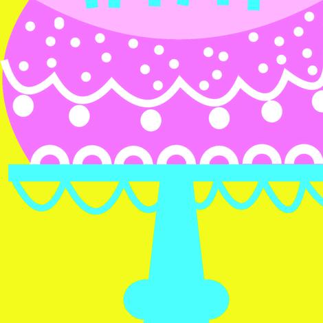 aniversário_bolo-1a fabric by gaby_braun on Spoonflower - custom fabric