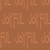Joyful proclamation