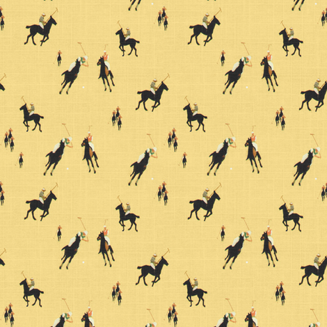 Polo Games fabric by ragan on Spoonflower - custom fabric
