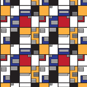 If Mondrian was an Architect - Medium