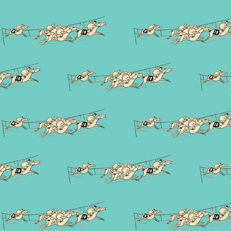 The Tiffany Racers fabric by ragan on Spoonflower - custom fabric