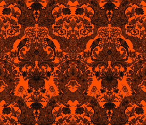 Rhaunted_damask2_simple_orange_shop_preview