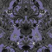 This Is Halloween! Haunted  House Damask ~ Small