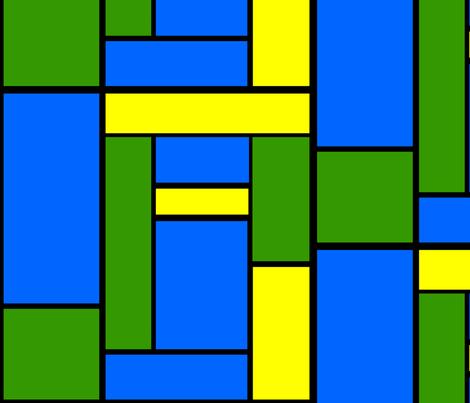 Mod Blocks fabric by kaylaconspiracy on Spoonflower - custom fabric