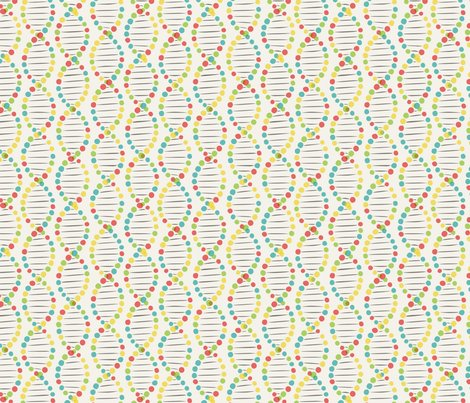Color DNA stripe fabric - minimiel