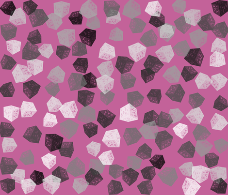 blockbashpink fabric by craftyscientists on Spoonflower - custom fabric