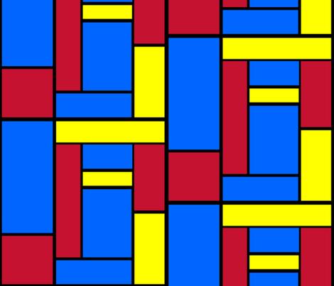 Mod Blocks 2.0 fabric by kaylaconspiracy on Spoonflower - custom fabric