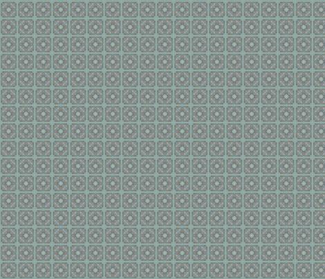 Tilework-Star fabric by ceruleana_fiber_arts on Spoonflower - custom fabric