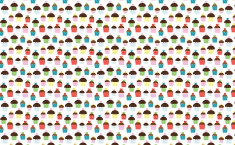 Birthday_Cupcakes fabric by creativitybycrystal on Spoonflower - custom fabric