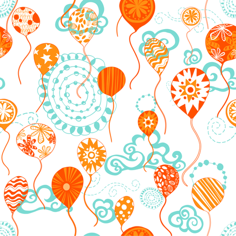 orangecelebrations fabric by sketchingmagpie on Spoonflower - custom fabric