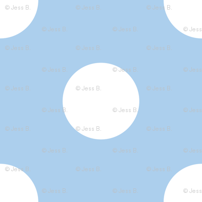 Cornflower Blue Polka Dot
