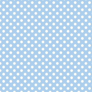 Cornflower Blue Polka Dot