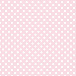 Blush Polka Dot