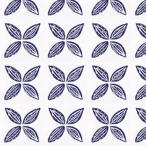 Four Points Blue Flower
