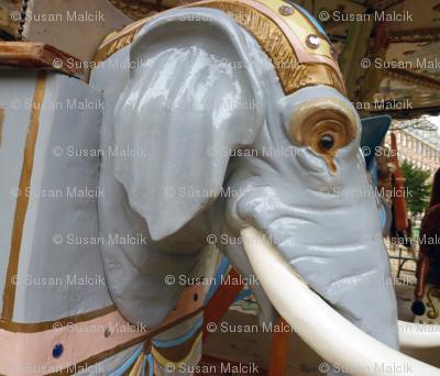 Carousel Elephant