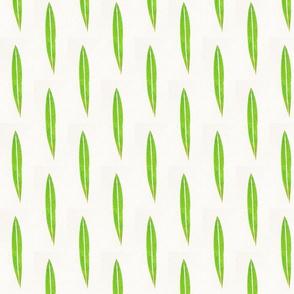 Blade of green grass