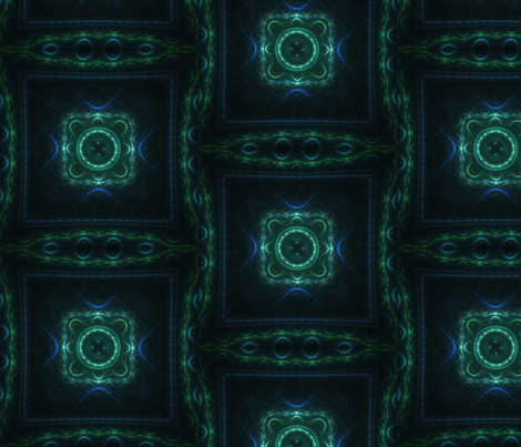 Experimental Fractal Layout fabric by serendipitymuse on Spoonflower - custom fabric