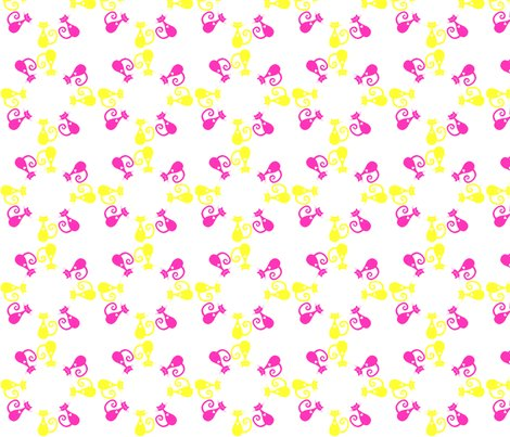 Rpink_and_yellow_cat_circle_4_inch_shop_preview