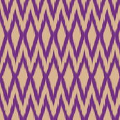 Purple Diamond Ikat