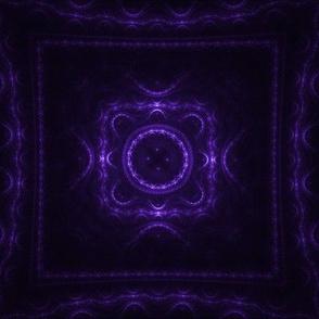 Square Fractal - Purple