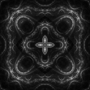 Square Fractal 2 - Gray