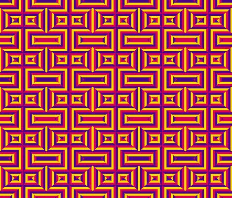 Hidden X fabric by anniedeb on Spoonflower - custom fabric