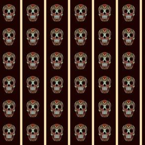 Azteca Skull Panels Small