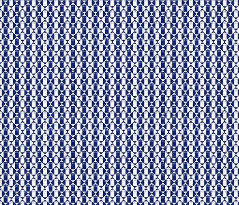 Harlequin Blue Box bl wht _med fabric by morrigoon on Spoonflower - custom fabric