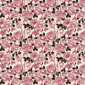 Toile_de_Jouy_roses (pink and black)