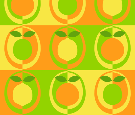 mod_citrus_2_no_white fabric by victorialasher on Spoonflower - custom fabric