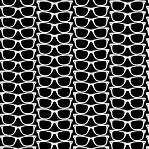 Risky Business (Black Mini)    nerd geek chic glasses sunglasses retro 80s fashion