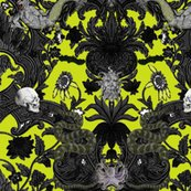 Rthis_is_halloween_haunted_damask_extra_spooky_chartreuse_shop_thumb