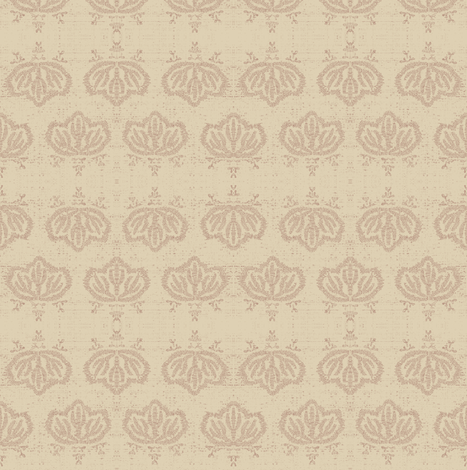 Kiri - beige  fabric by materialsgirl on Spoonflower - custom fabric