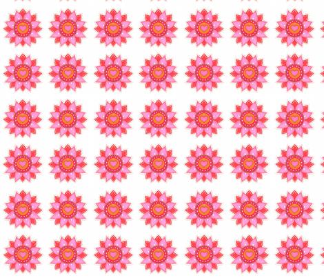 Florecitas rosadas fabric by lita_blanc on Spoonflower - custom fabric