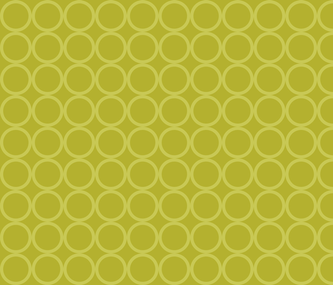 Party Animals Collection - Lime Dot fabric by ttoz on Spoonflower - custom fabric