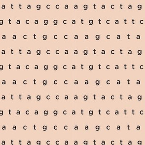 genetic code on flesh