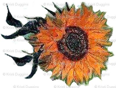 Sunflowers on White | Van Gogh by BohoBear