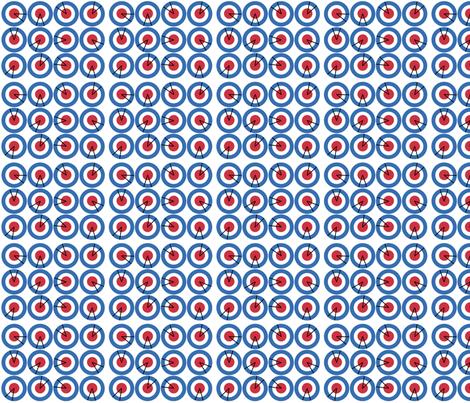 Mod Radar fabric by feamainnín on Spoonflower - custom fabric