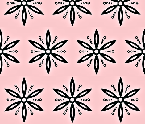 Flower of aphrodite fabric by brandi_ on Spoonflower - custom fabric