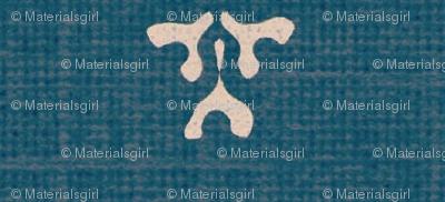 kiri coordinate - teal & white coordinate